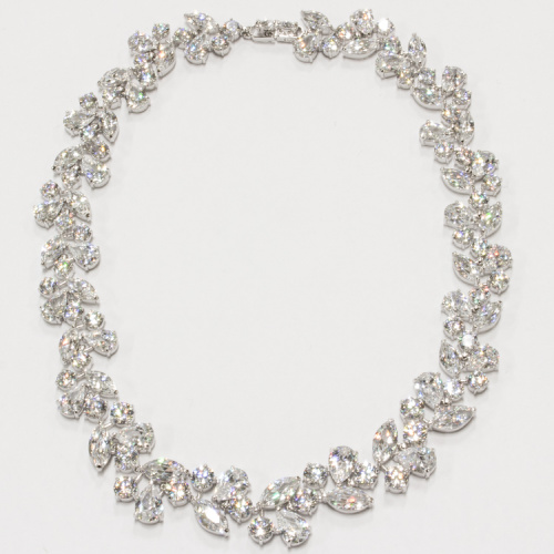 Swarovski Crystal Necklace style 189 at Helen Ainson in Darien CT