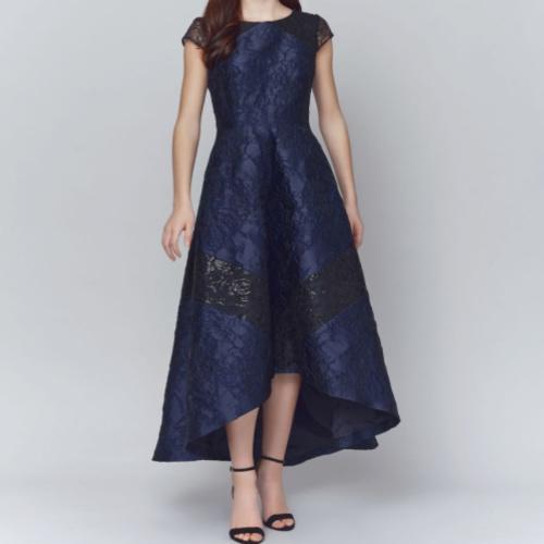 Nora Noh High Low Gown #209 Helen Ainson Darien Ct