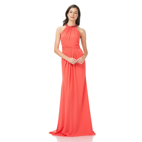 THEIA Draped Halter Gown at Helen Ainson in Darien Ct 8812255