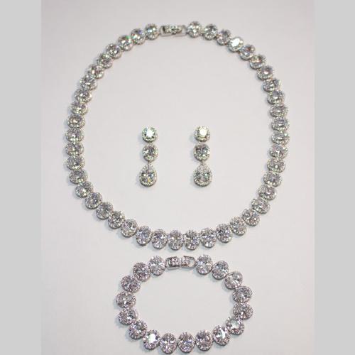 Hera Gem 3 pc set with Swarovski Crystal at Helen Ainson in Darien CT