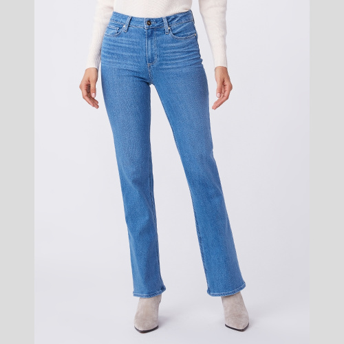 "High Rise Laurel Canyon 32"" - Views 6487F46-3317 by paige jeans at Helen ainson in Darien CT"