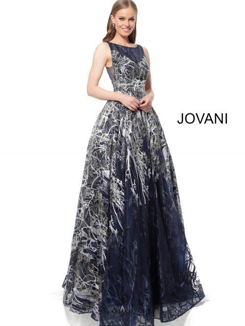 jovani 2399 embellished a line evening gown 02.672