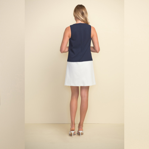 JOSEPH RIBKOFFColour blocked Dress Style 211091 at Helen Ainson in Darien CT