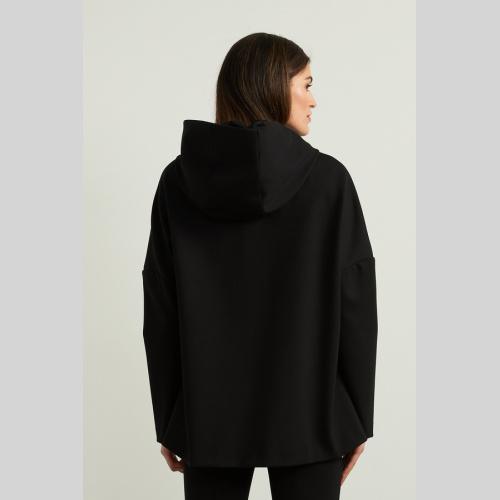 JOSEPH RIBKOFF Hooded Jacket Style 213005 at Helen Ainson in Darien CT