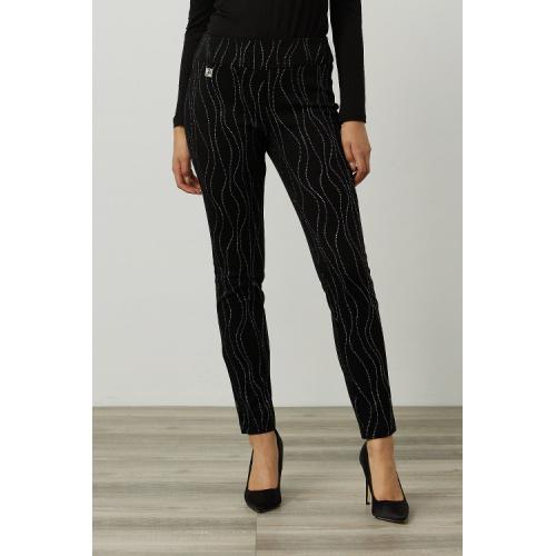 Joseph Ribkoff Embellished Pants 214297