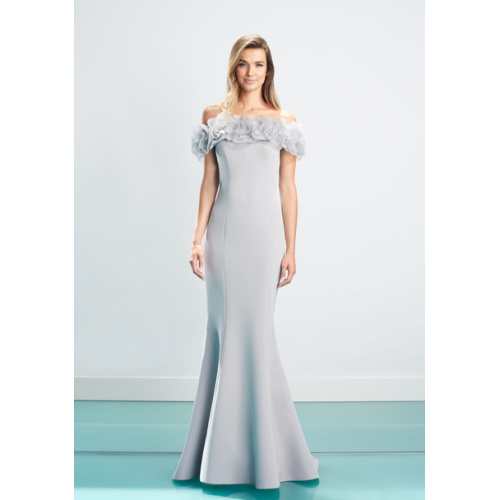 Daymor Ruffle Evening Gown 1461