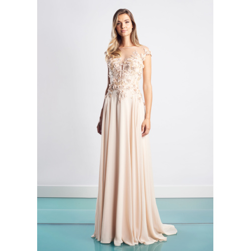 Daymor Illusion Gown 1452
