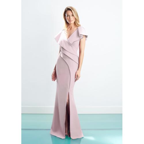 Daymor V-Neck Gown 1456