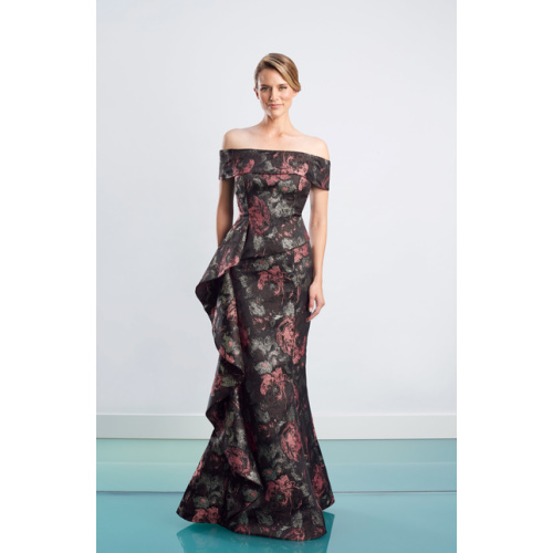 Daymor Floral Evening Gown