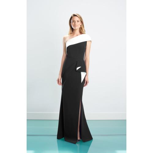 Daymor One-Shoulder Evening Gown