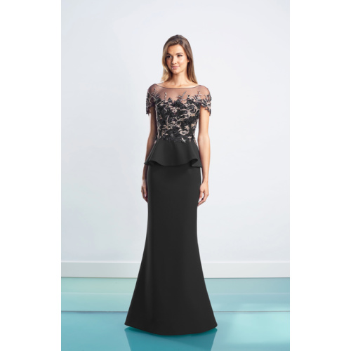 Daymor Peplum Gown 1459